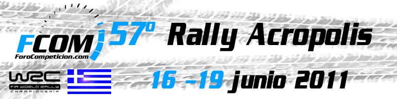 Apuestas WRC - Rally Acropolis 2011 - 16 - 19 junio