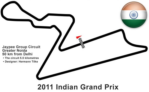 Apuestas FORMULA 1 AIRTEL GRAND PRIX OF INDIA 2011 (Qualy)