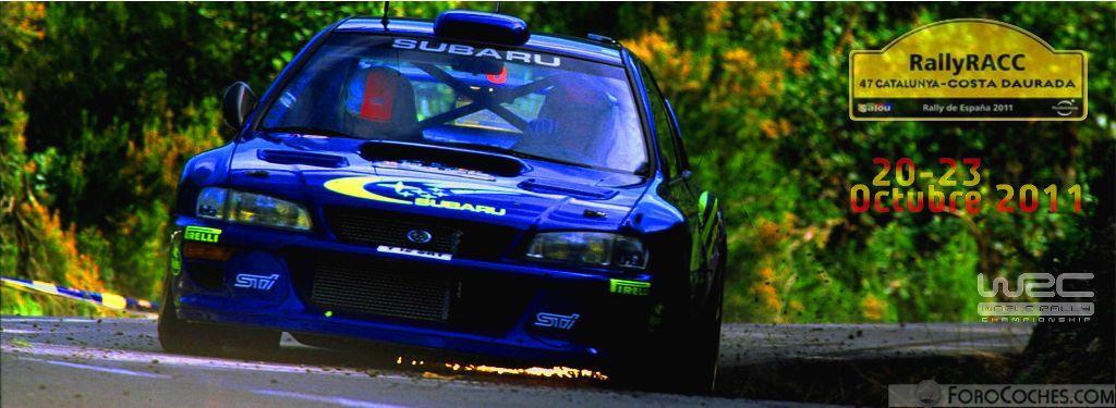 Apuestas WRC: 47º RallyRACC Catalunya - Costa Daurada (20-23 Octubre 2011)